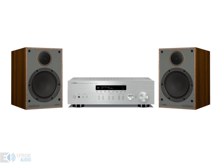 Yamaha R-N303D + Monitor Audio Monitor 100 sztereó szett