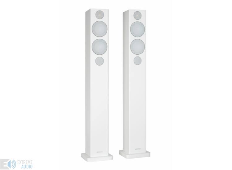 Monitor Audio Radius 270 lifestyle frontsugárzó, zongoralakk fehér (Bemutató darab)