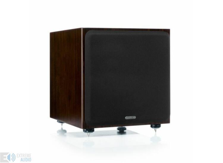 Monitor Audio Silver W12 mélysugárzó sötét dió Bolti bemutató darab)