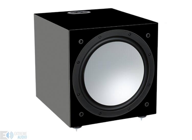 Monitor Audio Silver W12 mélysugárzó, zongoralakk fekete (bemutató darab)