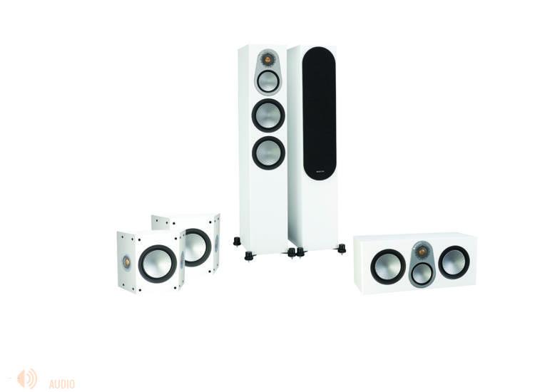 Monitor Audio Silver 300 5.0 hangfalszett, fehér
