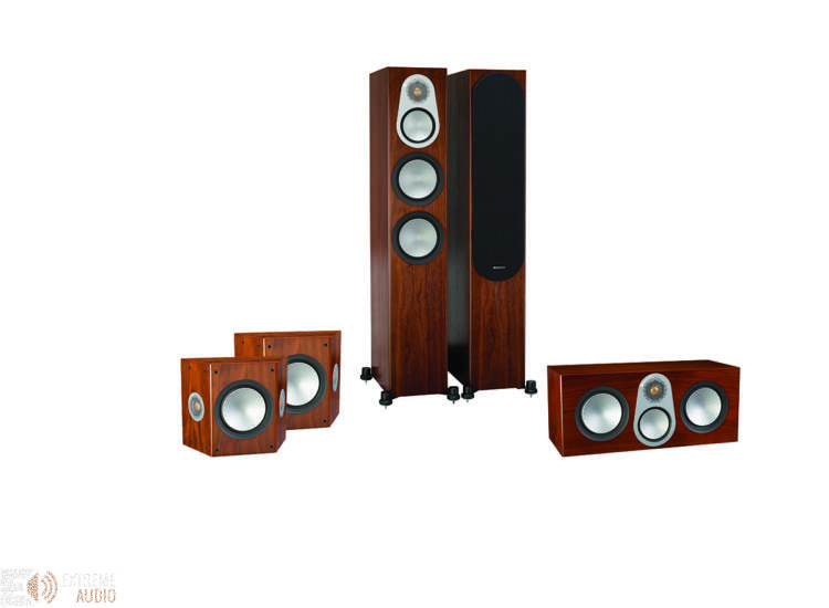 Monitor Audio Silver 300 5.0 hangfalszett, dió