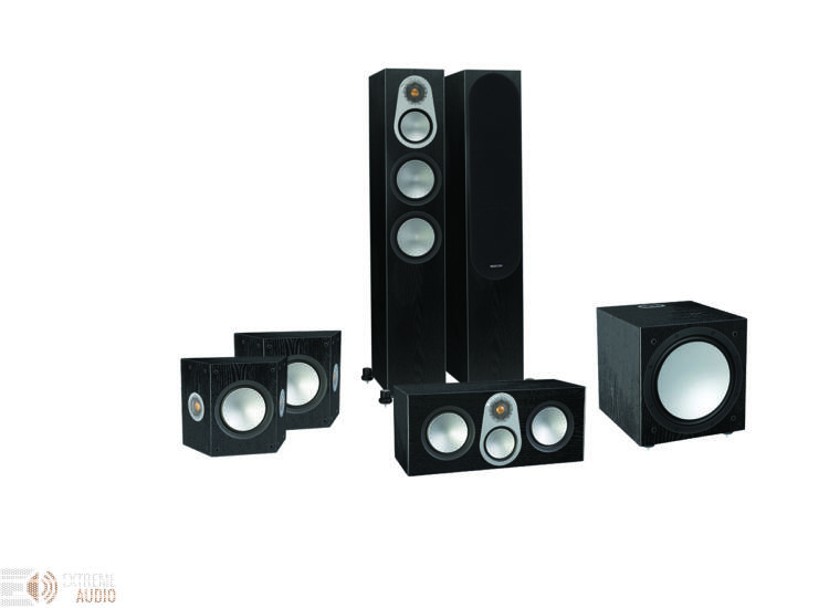 Monitor Audio Silver 300 5.1 hangfalszett, fekete