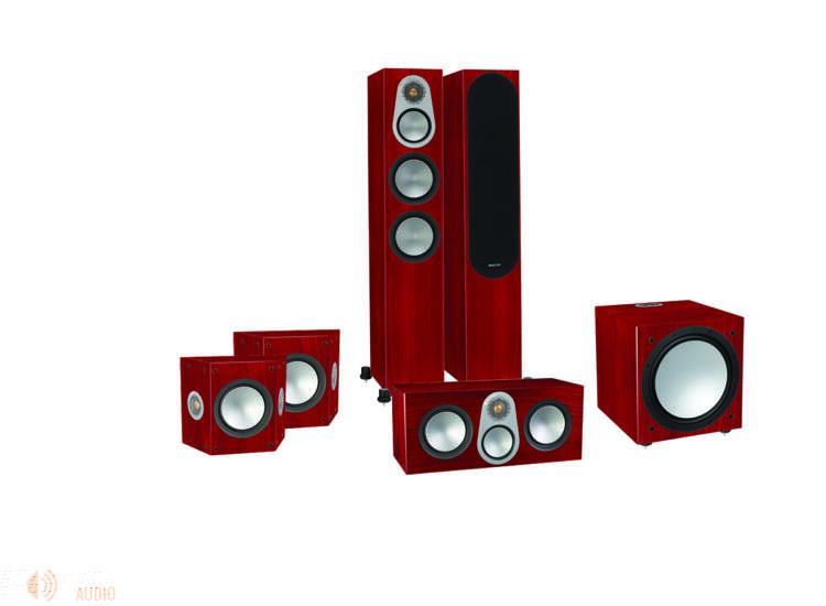 Monitor Audio Silver 300 5.1 hangfalszett, rózsafa