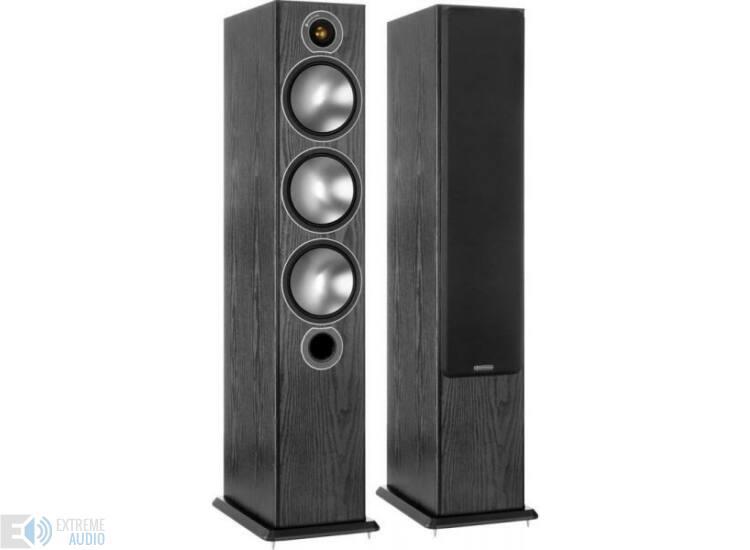 Monitor Audio Bronze 6 frontsugárzó pár, fekete