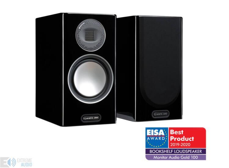 Monitor Audio Gold 100 (5G) polcsugárzó, zongoralakk fekete (csomagolás sérült)