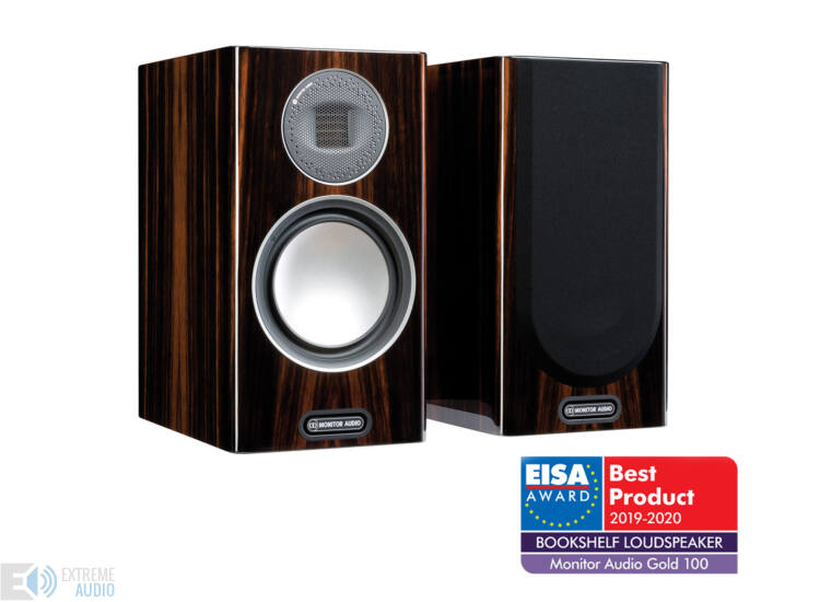 Monitor Audio Gold 100 (5G) polcsugárzó, zongoralakk fekete, faerezettel (csomagolás sérült)