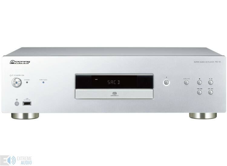 Pioneer PD10 Hi-Fi CD lejátszó ezüst