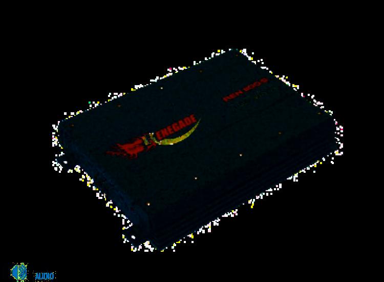 Renegade REN1100 MKIII  4 csatornás erősítő