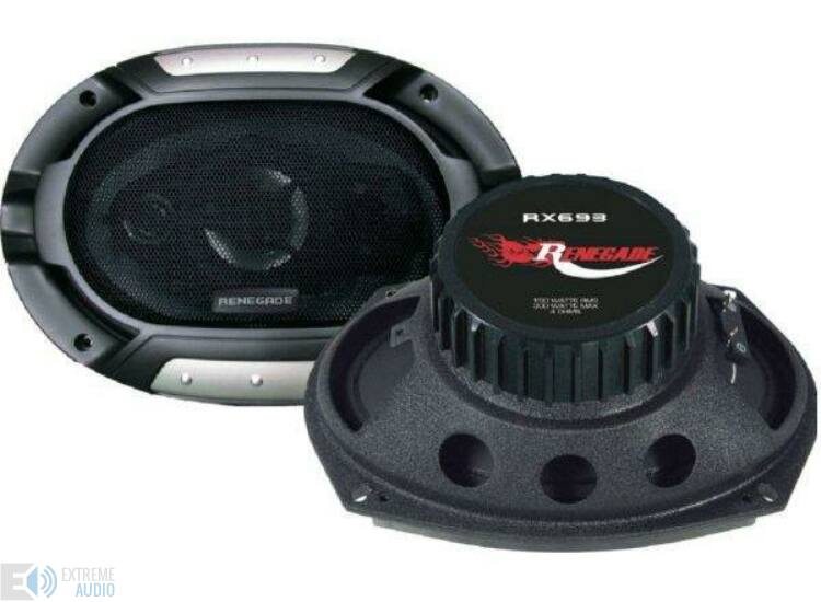 Renegade RX693 MKII Nagy ovál 3 utas koaxiális hangszóró DEMO