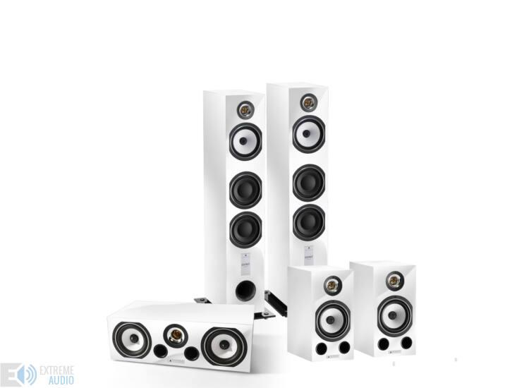 Triangle Esprit Antal+Comete+Voce 5.0 hangfalszett, zongoralakk fehér