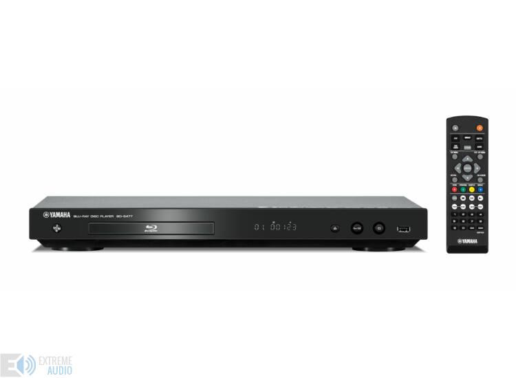 Yamaha BD-S477 Blu-ray lejátszó titán
