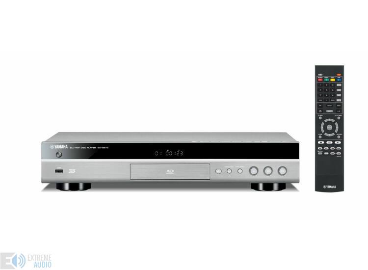 Yamaha BD-S673 Blu-ray lejátszó titán (Bolti bemutató darab)