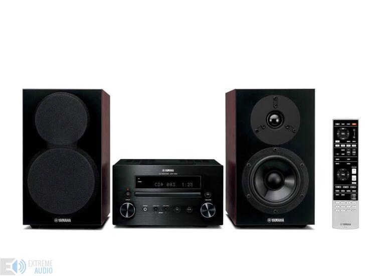Yamaha MCR-550 Mikro Hi-Fi, fekete/barna