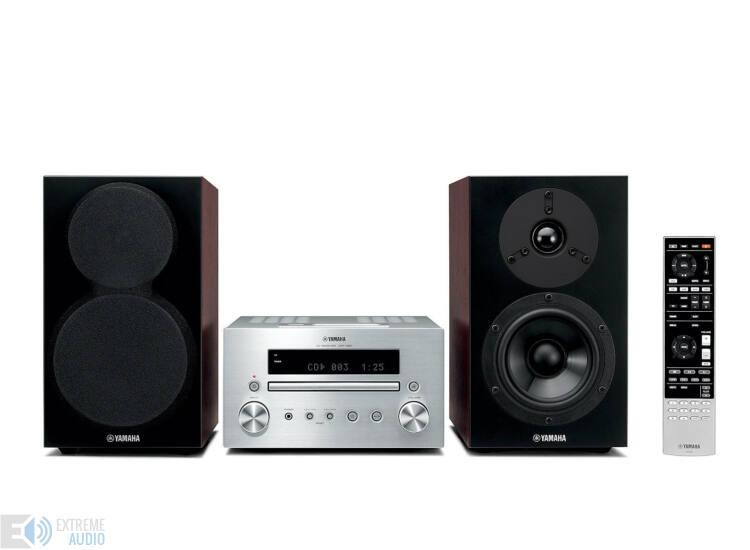 Yamaha MCR-550 Mikro Hi-Fi, ezüst/barna
