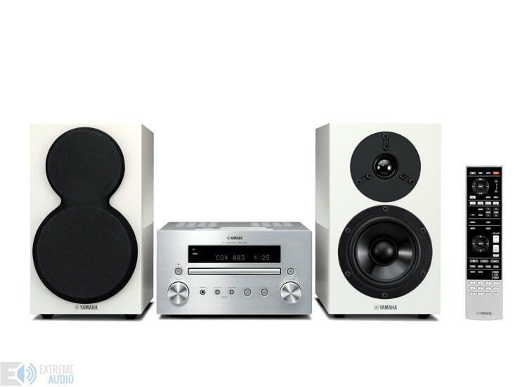 Yamaha MCR-550 Mikro Hi-Fi, ezüst/fehér