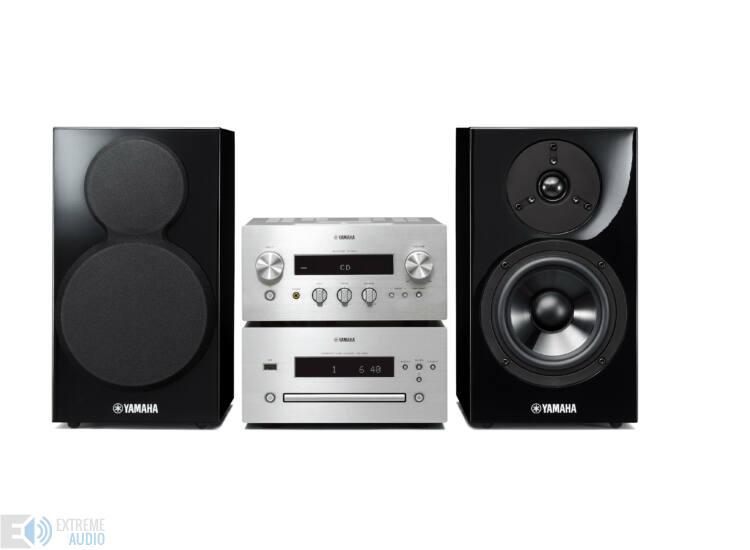 Yamaha MCR-640 Mikro Hi-Fi ezüst-fekete