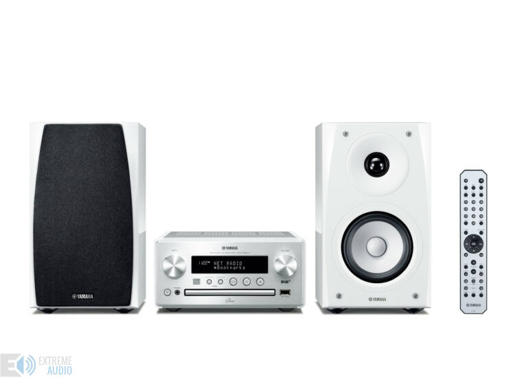 Yamaha MCR-N560 Hálózatos Mikro Hi-Fi ezüst-fehér