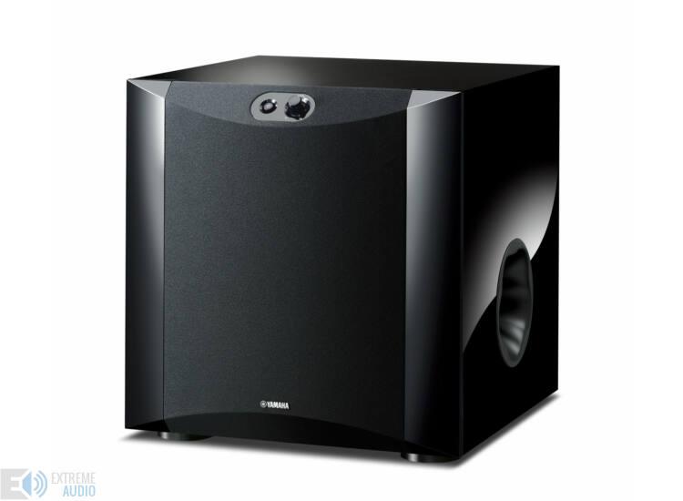 Yamaha NS-SW300 mélysugárzó, zongoralakk fekete