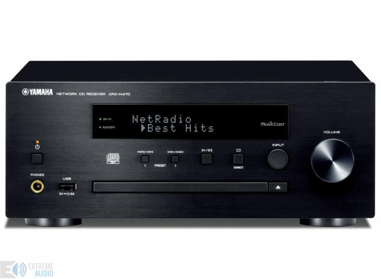 Yamaha CRX-N470 MusicCast Sztereó rádióerősítő