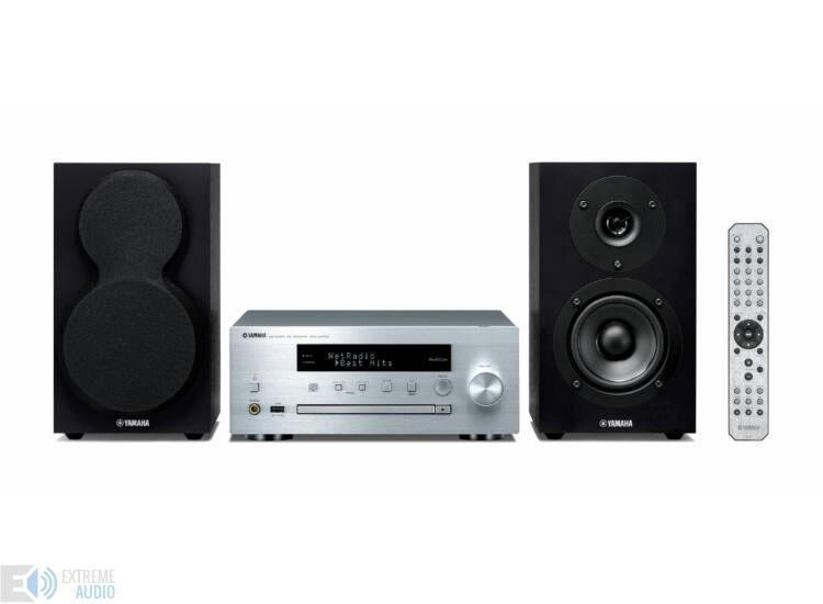 Yamaha MCR-N470D MusicCast Mikro Hi-Fi rendszer (Bemutató darab)