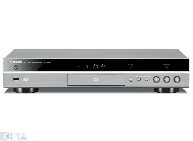 Yamaha BD-S681 Blu-ray lejátszó, titán