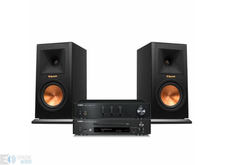 Yamaha CDNT670 + AAU670 + Klipsch RP-150M fekete sztereo szett