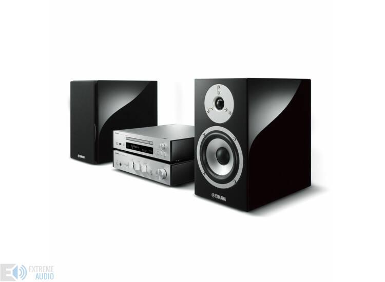 Yamaha MCR-N870 Mikro Hi-Fi MusicCast, ezüst feket