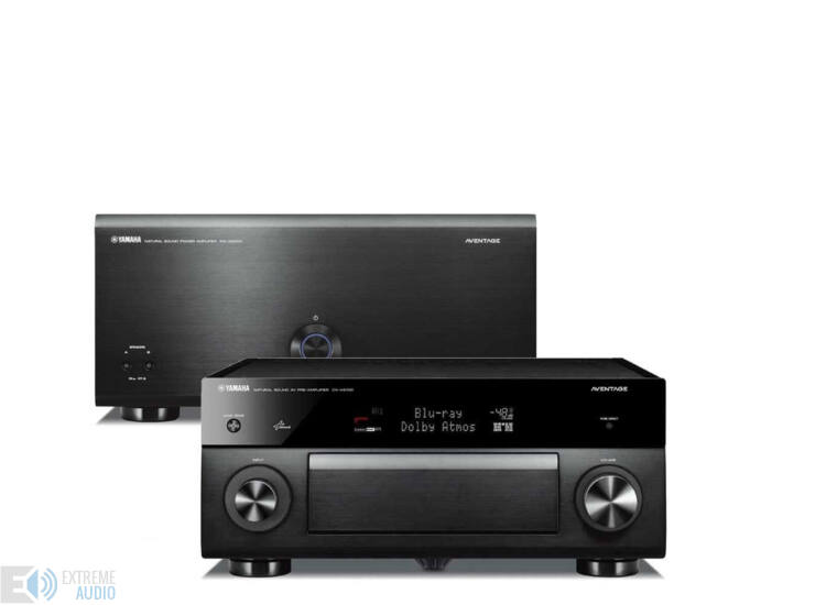 YAMAHA MX-A5000 végfok + CX-A5100 előerősítő high-end szett