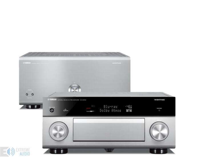 YAMAHA MX-A5000 végfok + CX-A5100 előerősítő high-end szett, ezüst