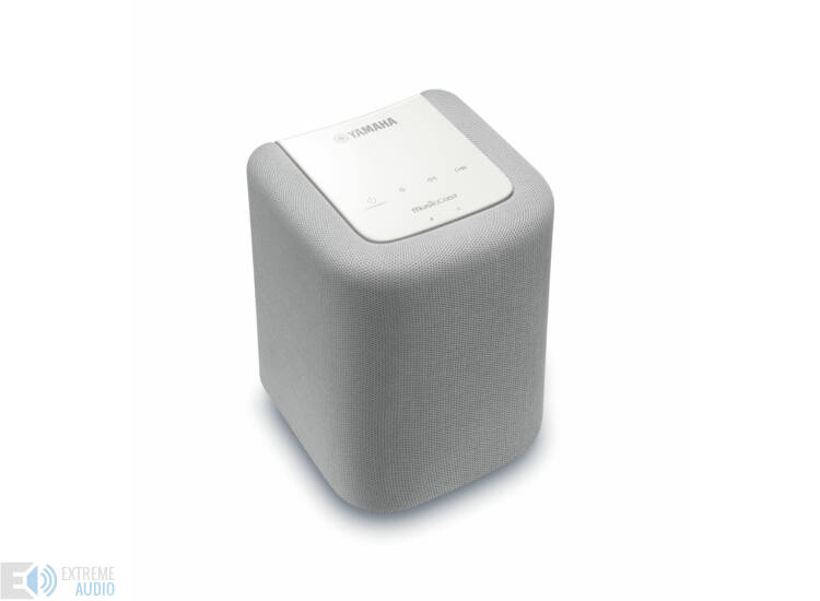 Yamaha WX-010 MusicCast vezeték nélküli HD audio hangszóró, fehér