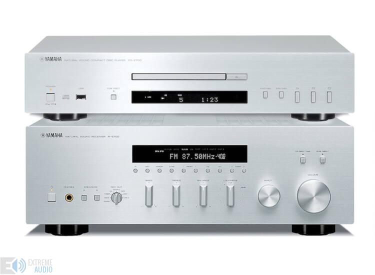 Yamaha R-S700 + CD-S700 Sztereó szett, ezüst