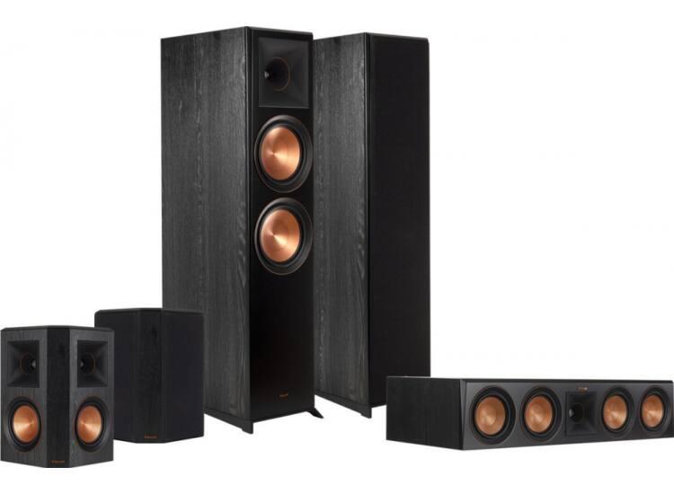 Klipsch RP-8000F 5.0 hangfalszett, fekete
