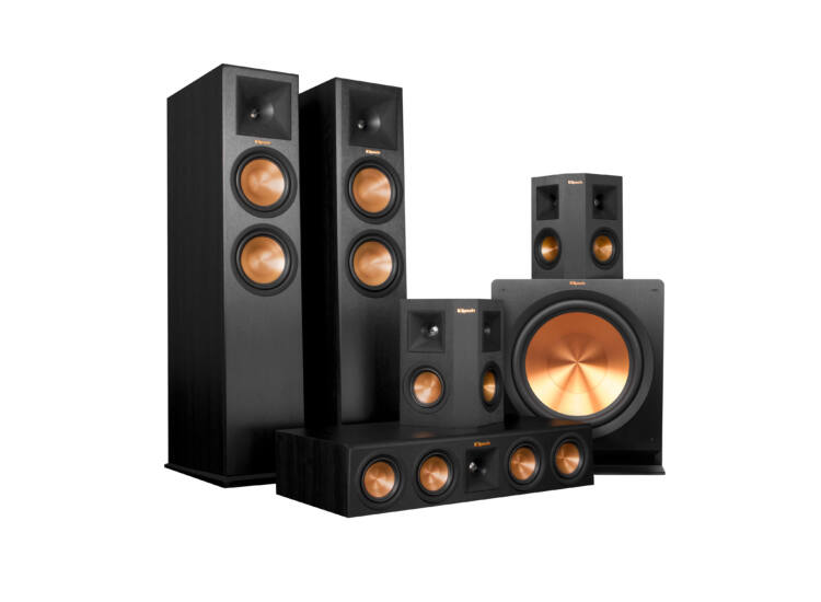 Klipsch RP-280FA 5.2.1 Dolby Atmos szett, fekete