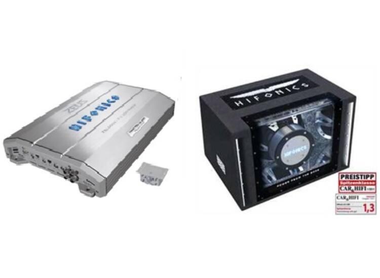 HIFONICS ZXi-6002 + HIFONICS ZLi-12BP