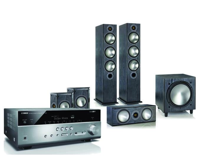 Monitor Audio Bronze 6 + Yamaha RX-V685 5.1 házimozi szett