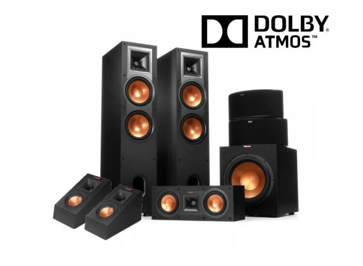 Klipsch R-28F 5.1.2 Dolby Atmos szett