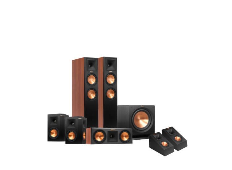 Klipsch RP-260F 5.1.2 Dolby Atmos szett, cseresznye