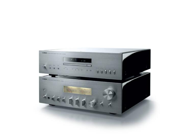 Yamaha A-S2100 Sztereó erősítő + Yamaha CD-S2100, ezüst